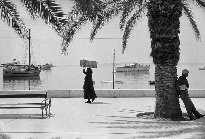 Город Сплит, Югославия, 1953 год.