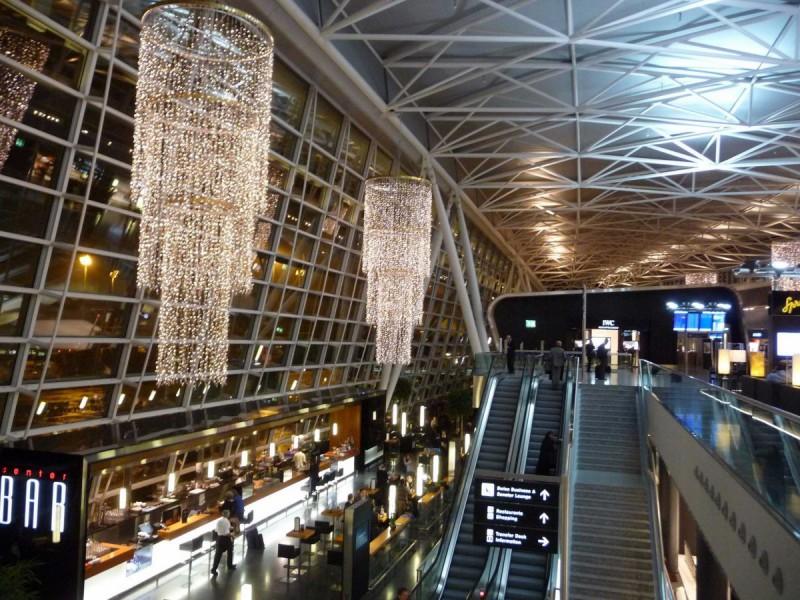 Аэропорт предоставляет пассажирам, у которых задерживается рейс, аренду велосипеда или роликов, а та