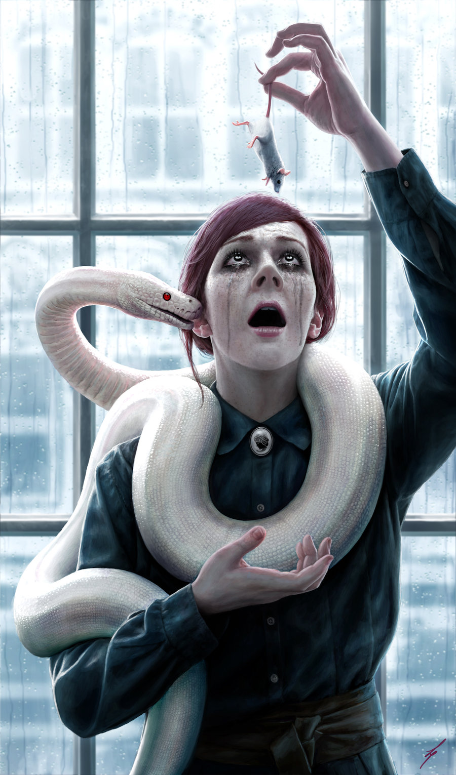 Безумные сюжеты в фантастических иллюстрациях Лиама Питерса (Liam Peters) — американский художник, с