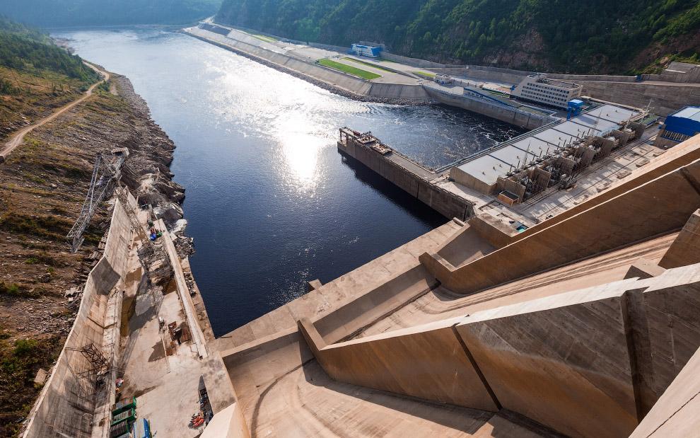 6. С технической точки зрения Бурейская ГЭС является одной из самых современных электростанций