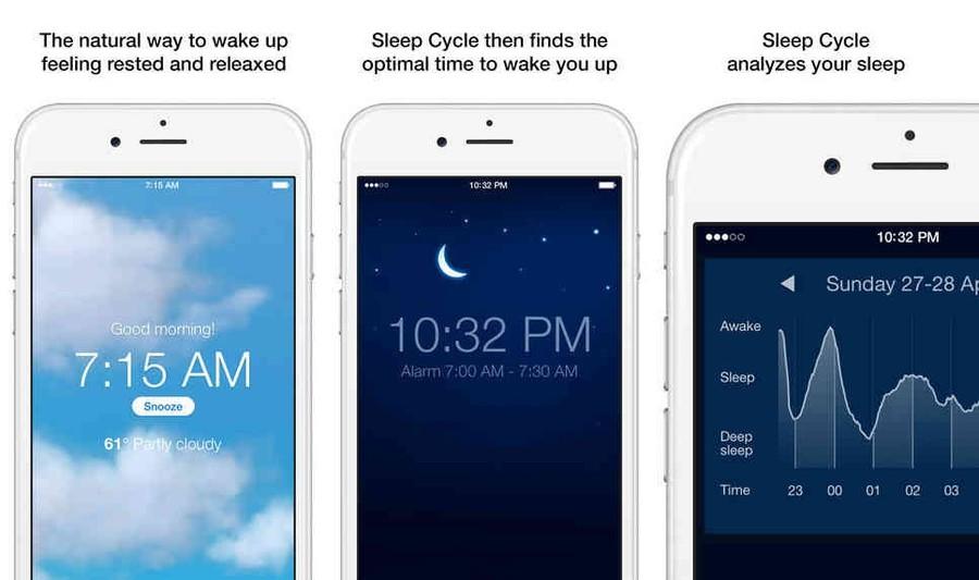 4. Будильник, определяющий лучшее время для пробуждения Умный будильник сам сможет определить наилуч