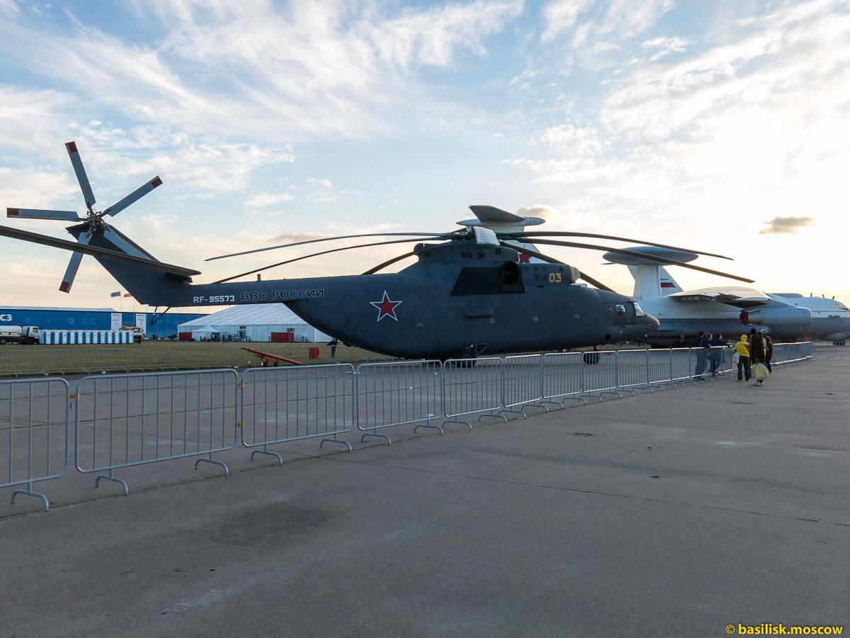 Московский авиакосмический салон МАКС-2015. Вертолёты. Август 2015