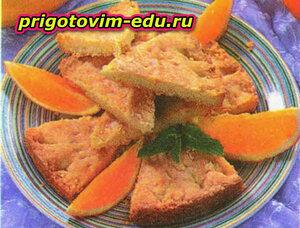 Марокканское апельсиновое печенье