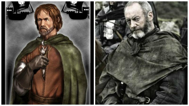Лорд Давос Сиворт по прозвищу Луковый рыцарь