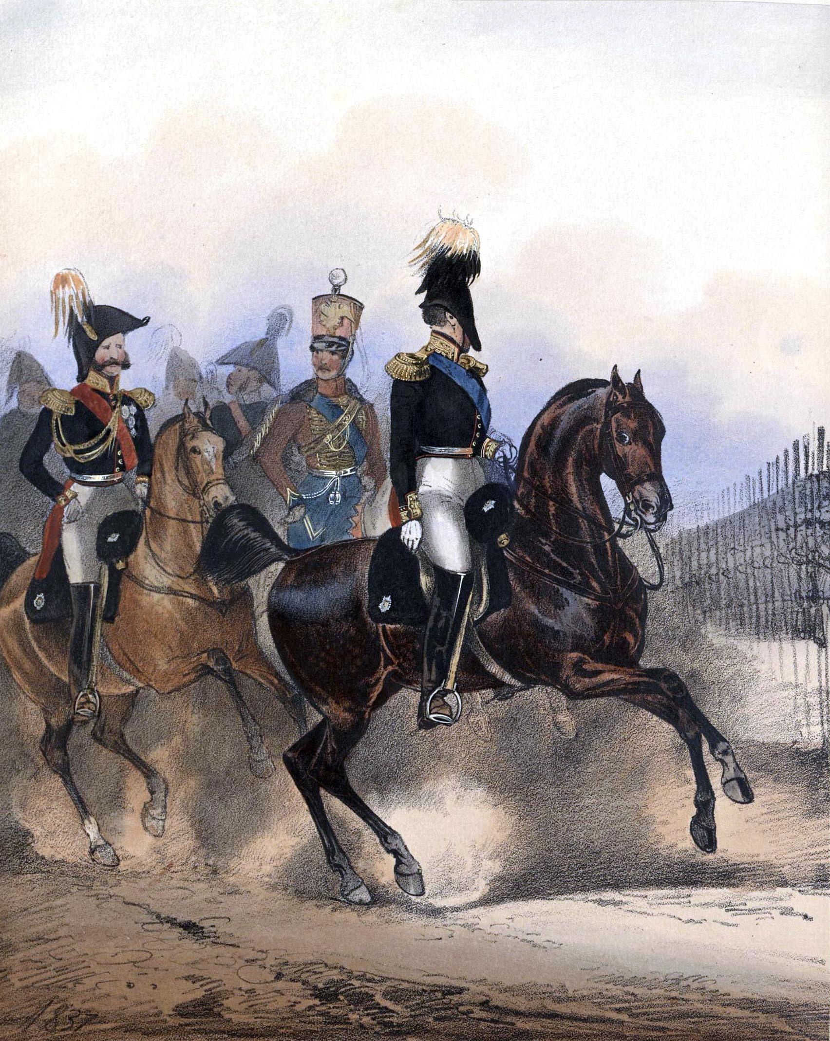 004. Kaiserthum Russland General der Cavallerie in Parade/ Российская империя Генерал кавалерии на параде