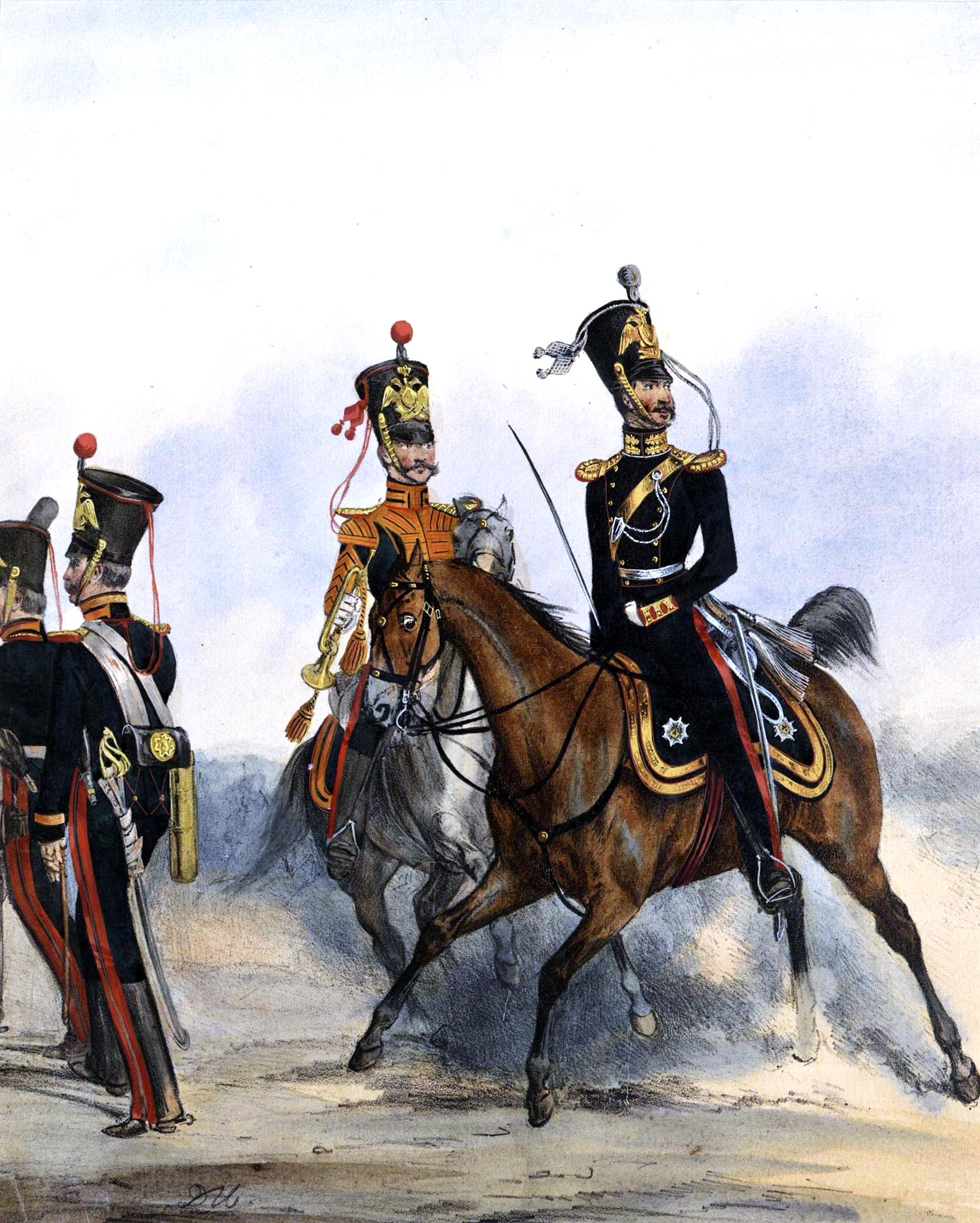 031. Kaiserthum Russland Garde-Artillerie zu Pferd / Российская империя
