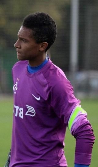 Дэвид Сангаре - вратарь команды «Динамо» 2000 года рождения
