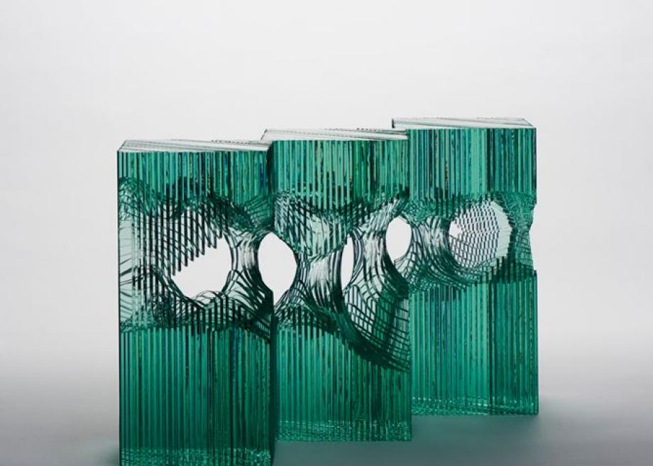 Have you worked with other media? What do you like about glass, as a medium of expression? What tric