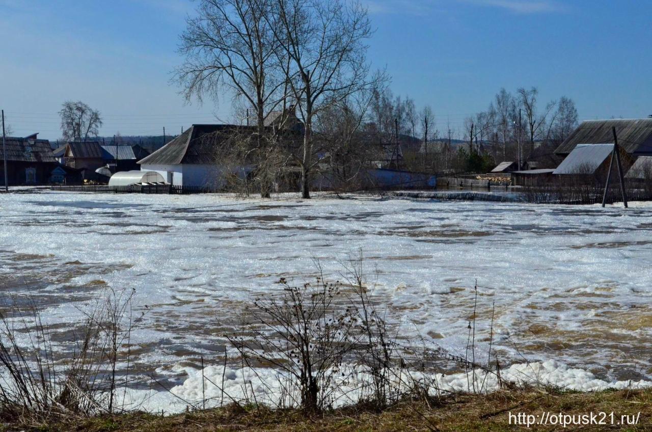 Паводок в Кудымкаре