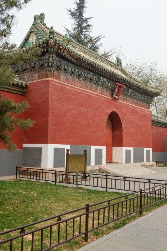 Храм Божества шелкопряда Сяньцань, парк Бэйхай, Пекин
