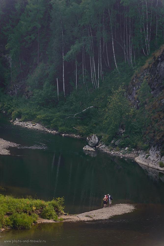 Фото 13. Вид на реку Серга в национальном парке «Оленьи ручьи». Отчеты о походах выходного дня на Урале. 1/640, -0.67, 5.3, 250, 230.