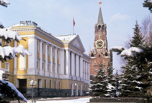 Здание Президиума Верховного Совета СССР.
