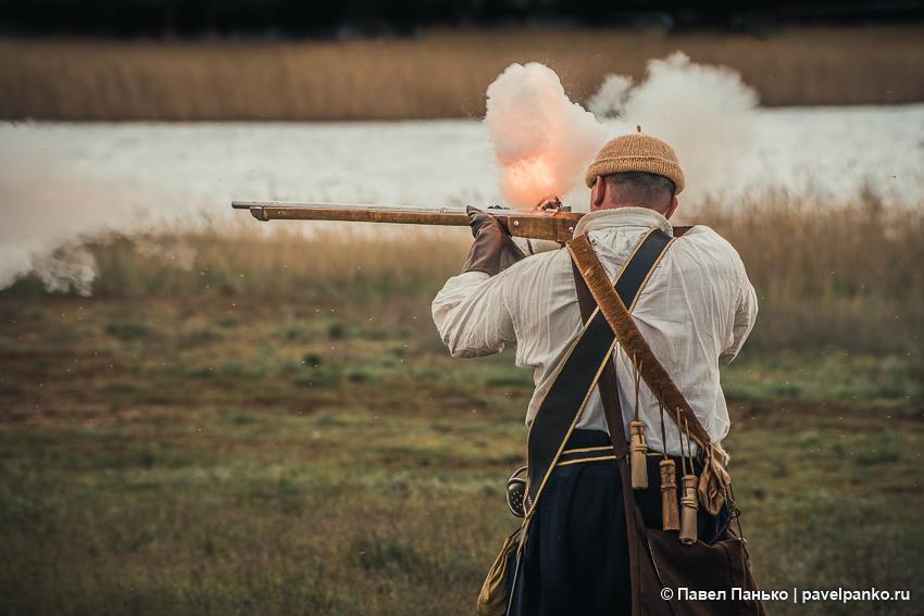историческая реконструкция царицын стрельба