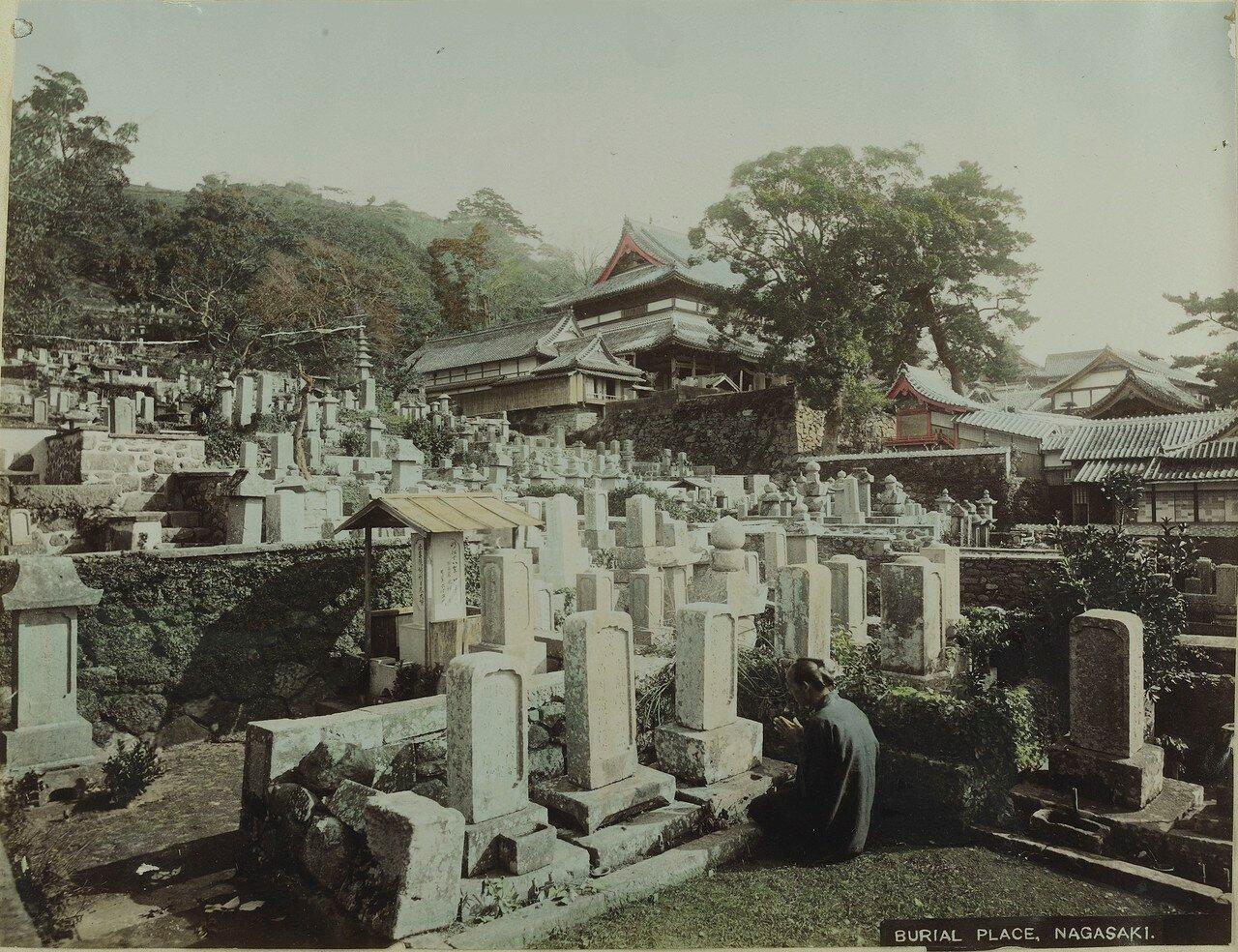Нагасаки. Кладбище