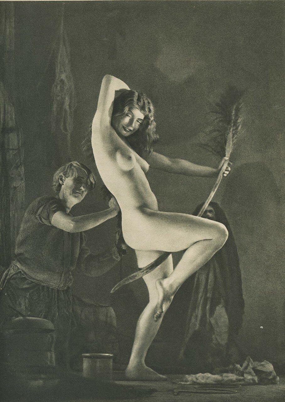 1926. «Иллюстрированный компендиум колдовства».  Приготовления к шабашу