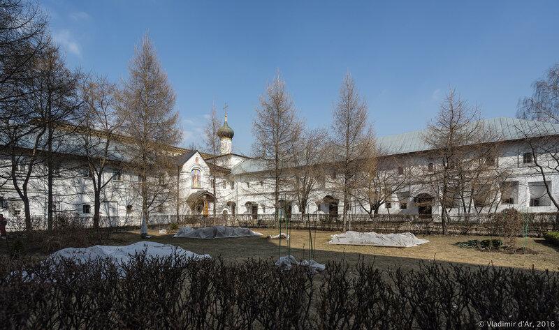 Братские корпуса Новоспасского монастыря (XVII век)