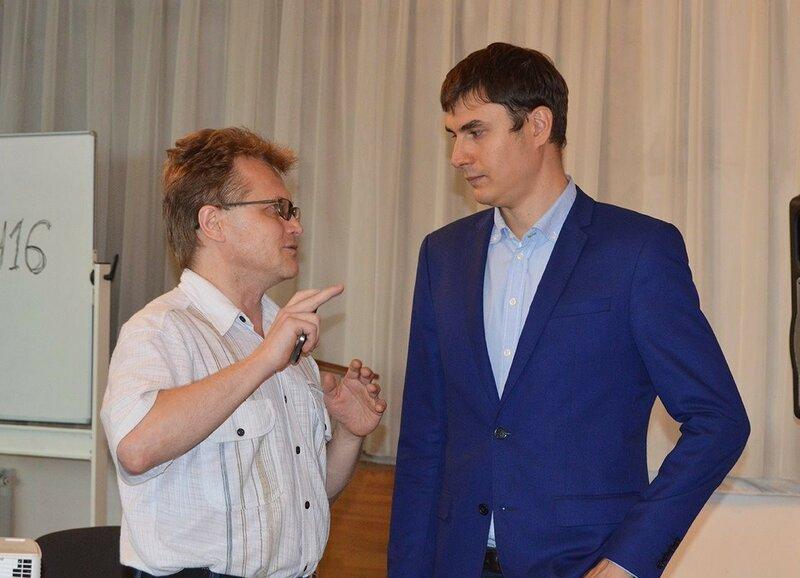 Я и Сергей Шаргунов