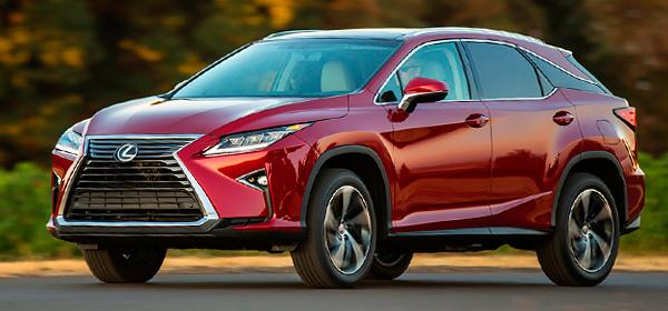 Lexus отзовет в России модели RX и седаны ES