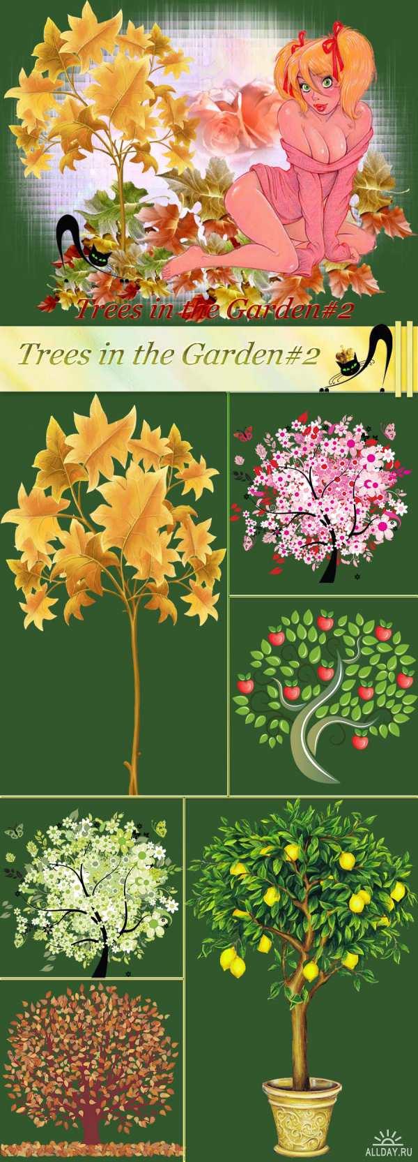 Деревья - Клипарт PNG