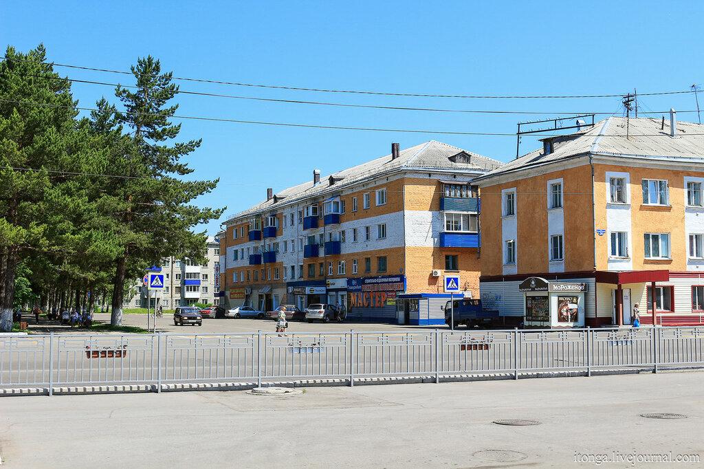 Улицы города Мыски