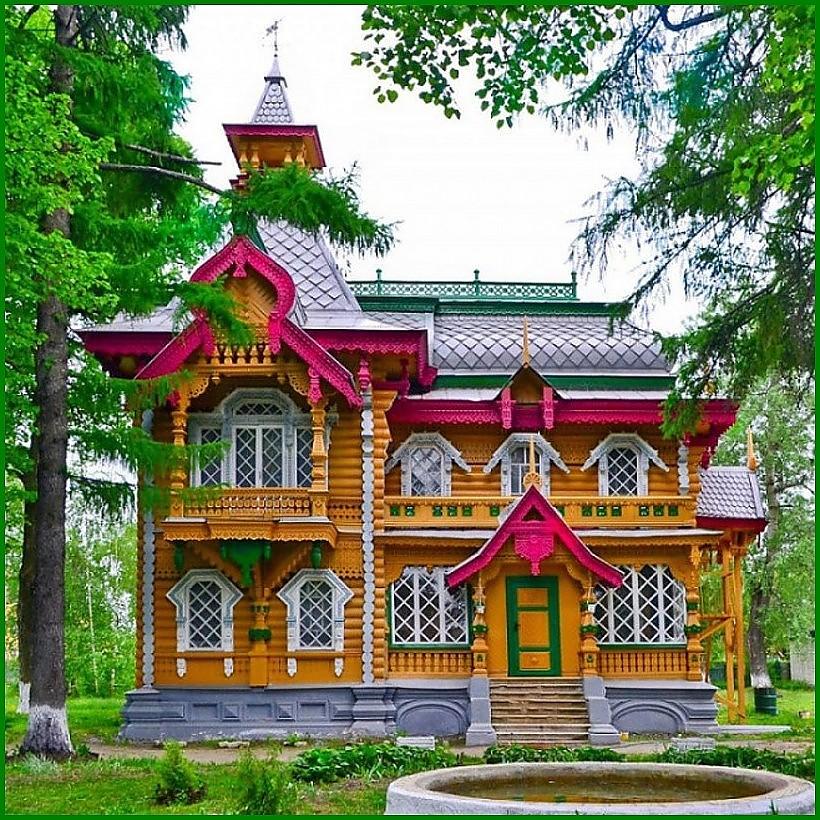 Красивые дома.