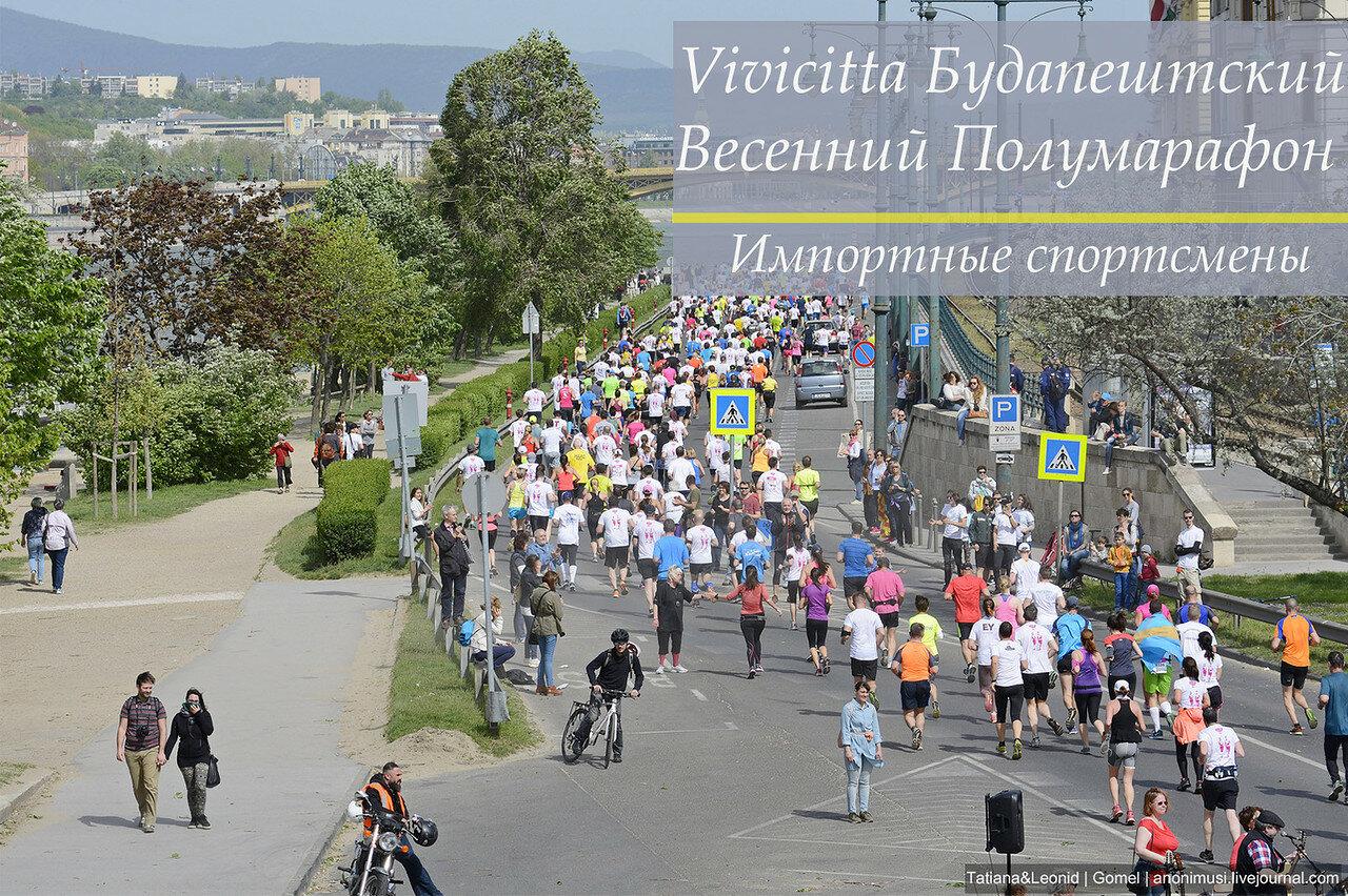 31. Vivicitta Будапештский Весенний Полумарафон