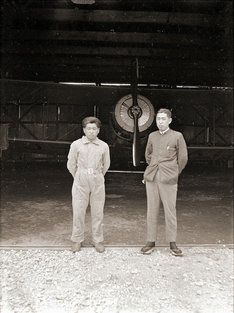 Salmson 2.A2 Airplane in Japan, 1930s
