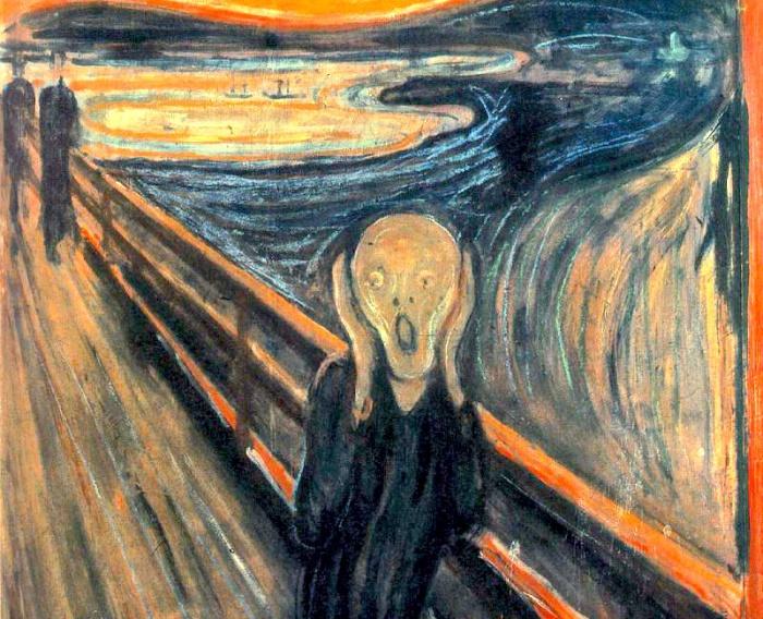 Картина «Крик» Эдварда Мунка «Крик» — серия полотен художника-экспрессиониста Эдварда Мунка, созданн