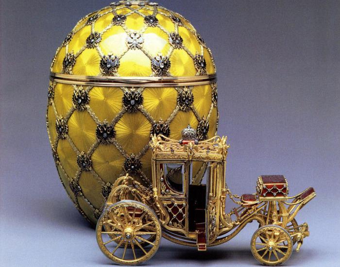 Яйца Фаберже Серия ювелирных изделий фирмы Карла Фаберже, известная как яйца Фаберже, создавалась в