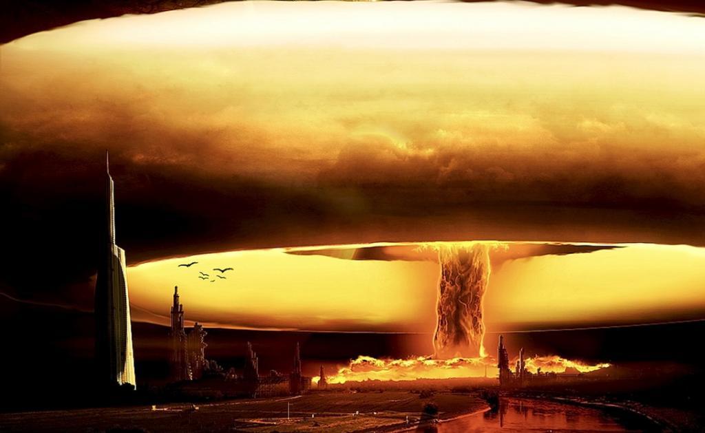 Самым зрелищным после взрыва покажется наблюдателям огромный огненный шар: пылающие бури, инициирова