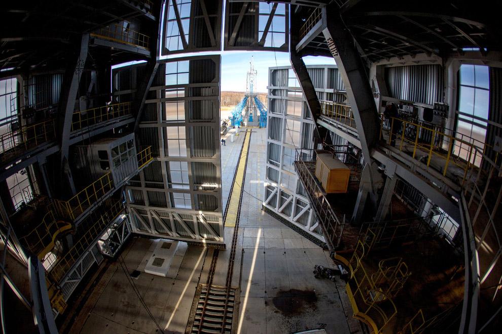 9. Первый запуск с «Восточного» состоялся 28 апреля 2016, и мы об этом уже писали . Ракета-носи