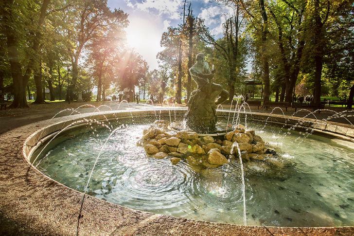 Калемегдан, парк рядом с Белградской крепостью.
