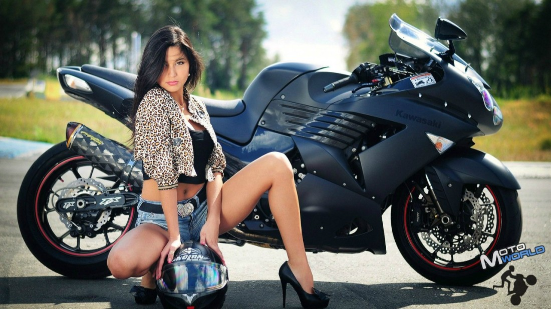 Сексуальные девушки на мотоциклах смотреть онлайн фотоография