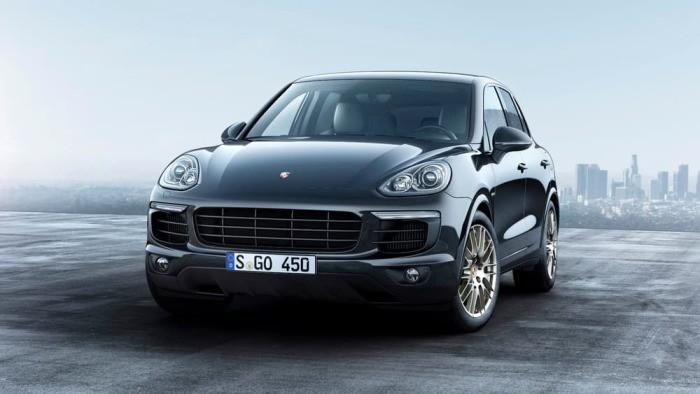 Эксклюзивная версия Platinum Edition для дизельного и гибридного Porsche Cayenne (5 фото)