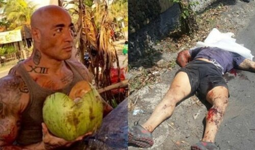 Как французский боец смешанных единоборств Амокран Сабе (Amokrane Sabet) затерроризировал Индонезию