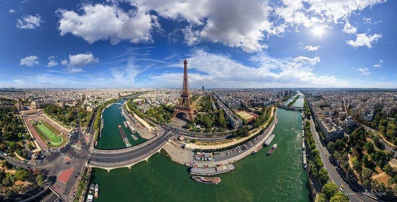 Эйфелева башна, Париж, Франция