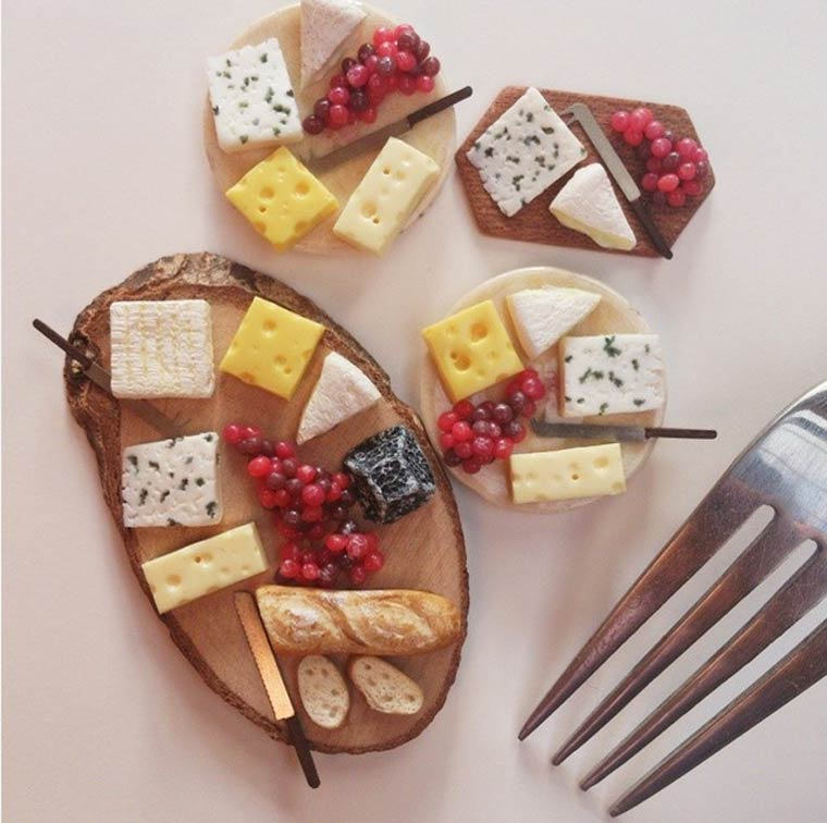 Petit Plat - The adorable culinary miniatures by Stephanie Kilgast