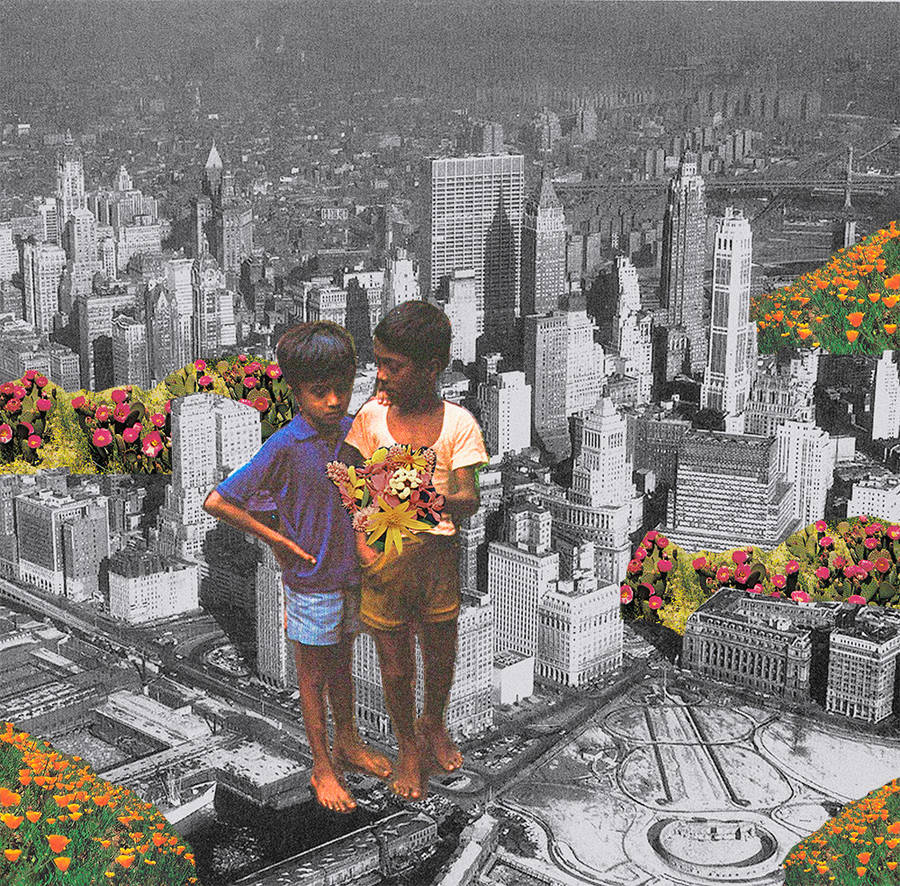 Enchanting Collage Compositions