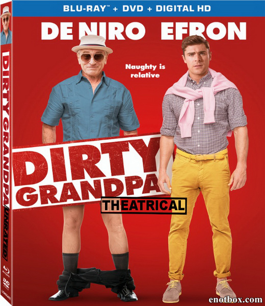 Дедушка легкого поведения / Dirty Grandpa (2016/BDRip/HDRip)