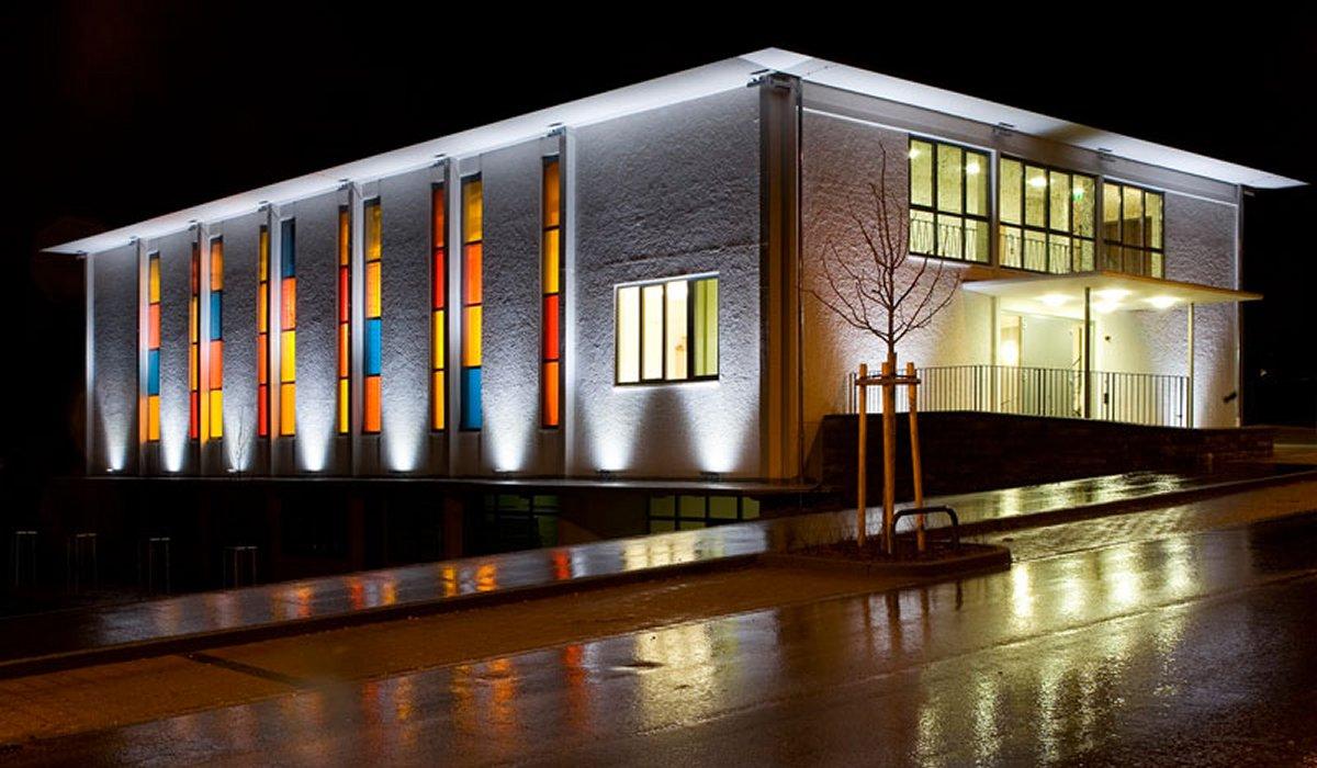 Светодиодная подсветка зданий