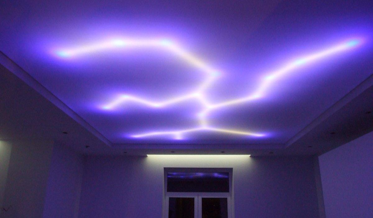 Светодиодные ленты в закарнизном освещении
