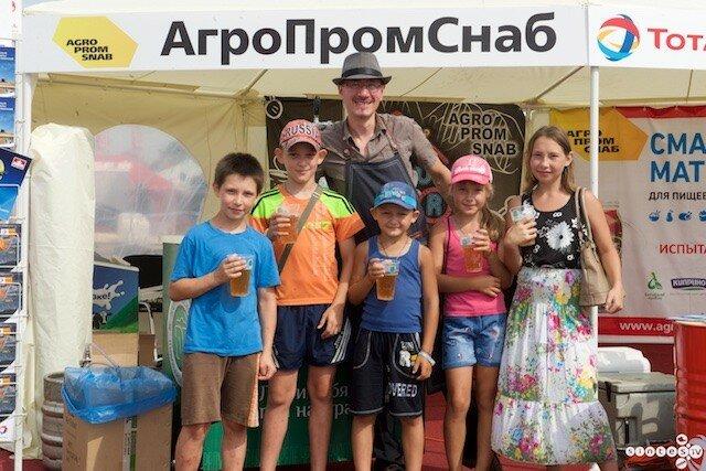 АгроПромСнаб на Всероссийском дне поля 14 - 16 июля 2016 года
