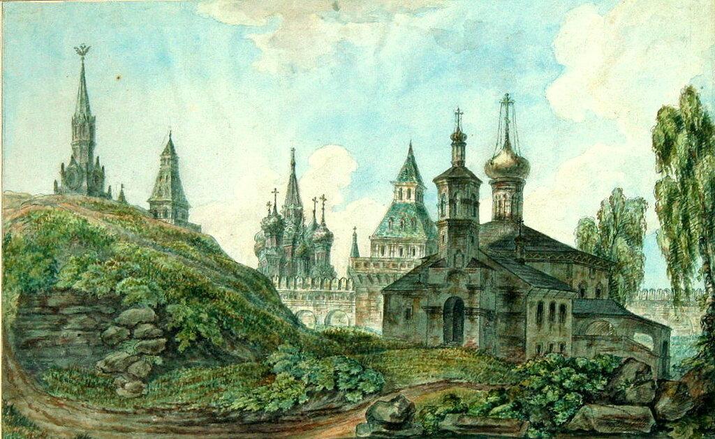 459366 Церковь Константина и Елены под горою в Кремле, к Спасским воротам (фрагмент).jpg