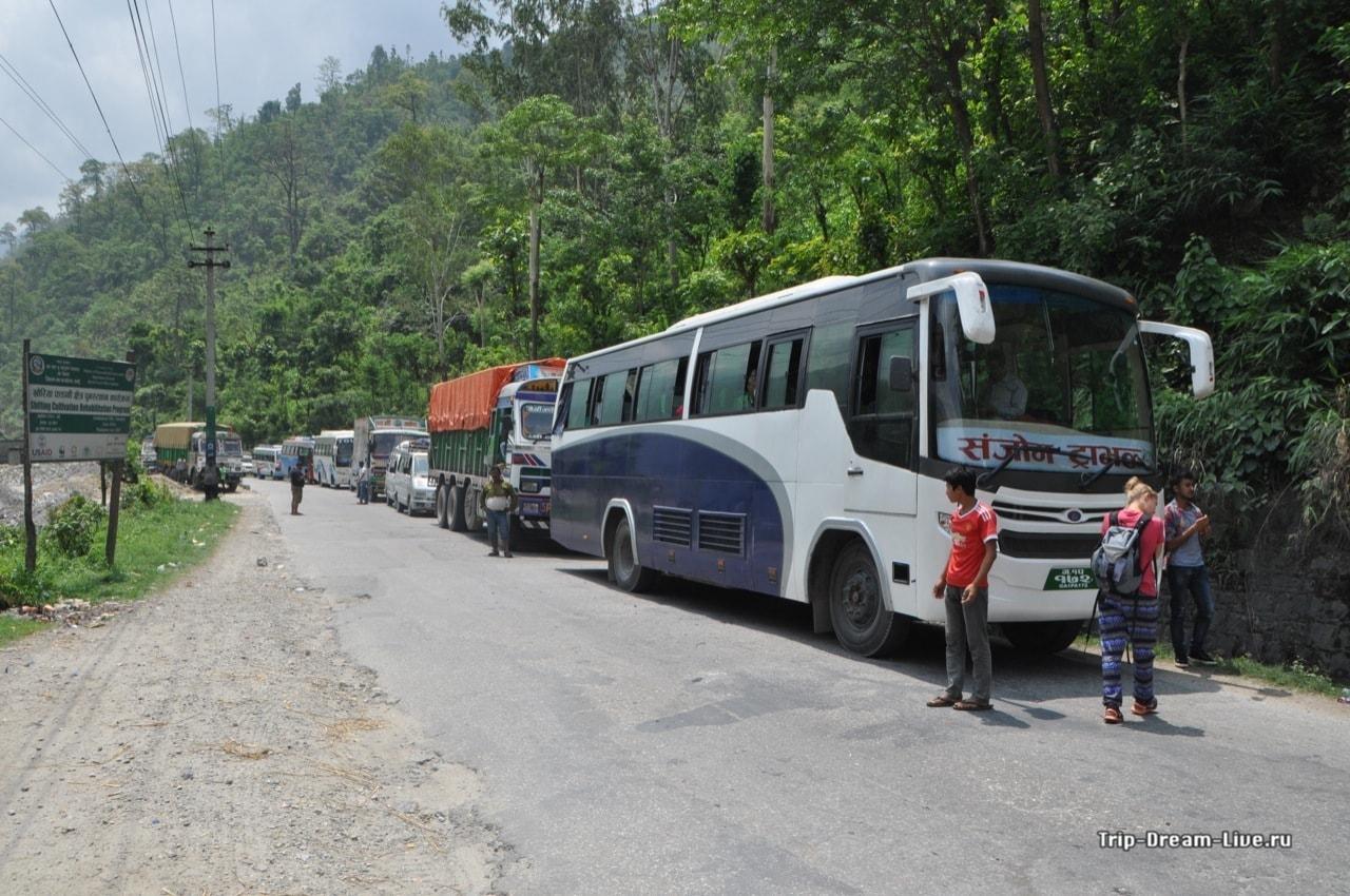 Автобус Покхара-Читван