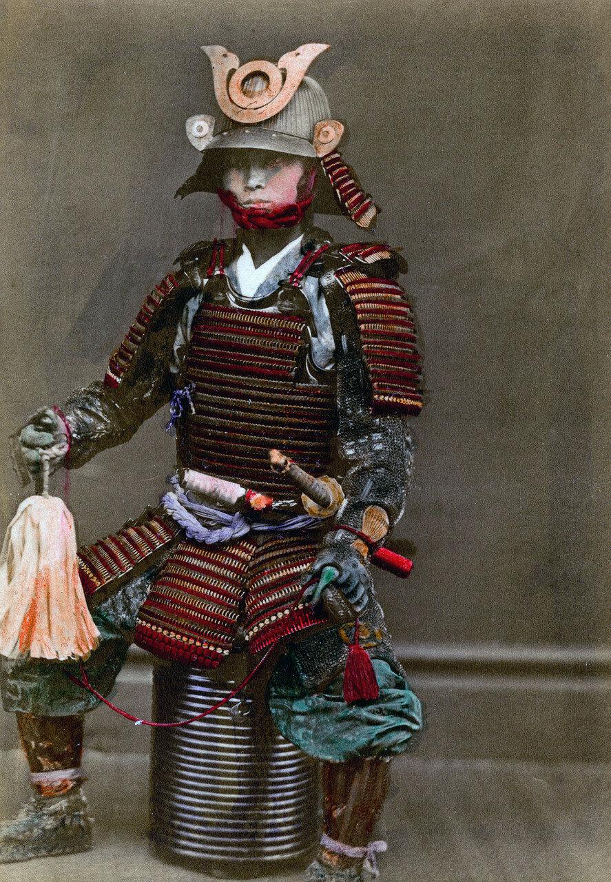 Самурай в броне. 1882