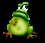 веселый лягушенок