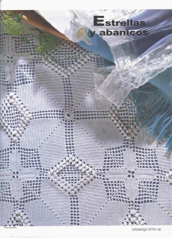 Вязание крючком, филейное вязание