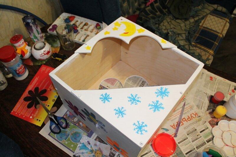 Как сделать кормушку для птиц.. Крылова Катрин