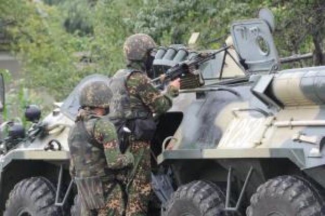 ВМагарамкентском районе сгорели два боевика