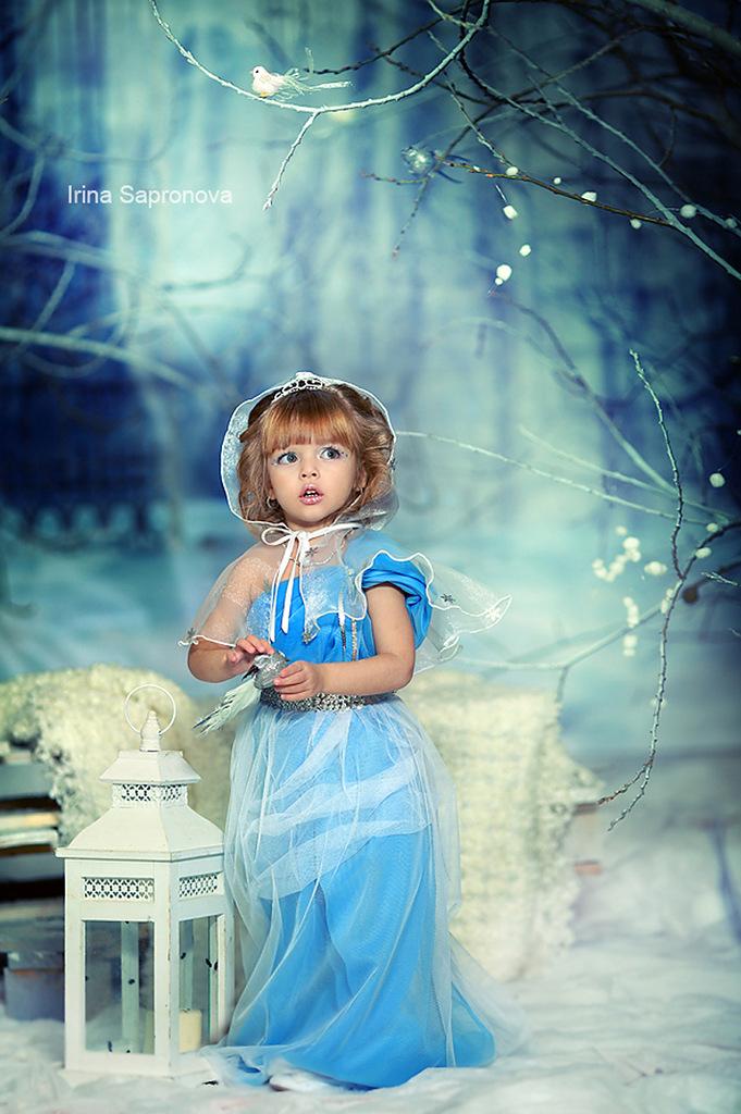 Чудо работы детского фотографа Ирины Сапроновой
